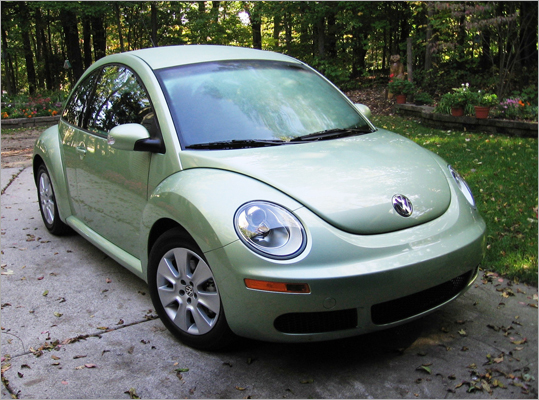 While the Beetle is certainly popular, it faces some competition in other foreign, small cars such as the Mini Cooper, which started outselling the Beetle almost 3-to-1 last year. The car is also not the only funky model on the market, competing with the likes of the Kia Soul, Nissan Cube, and the Scion xB.