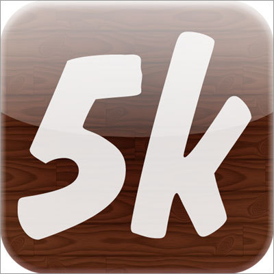 Couch25k According to the developer, Felt Tip Inc., this iPhone or iPod touch app will help you get into shape using a 3-days-a-week workout program spanning 9 weeks -- ending with your ability to run a full 5 km or 3.1 miles. Available for: iPhone Price: $2.99