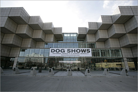 Detroit (2010) Occupancy: 48 to 55 percent Analysis: These data demonstrate that the event activity held at Cobo does not point to an obvious need for added exhibit space. Recommendation: Consider addition of smaller, flex space Pictured: The Cobo Center in Detroit.
