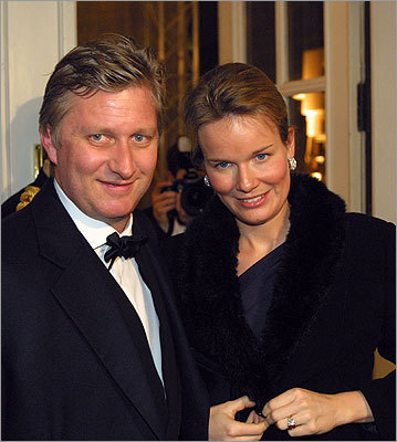 Prince Philippe and Princess Mathilde