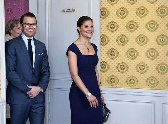 Prince Daniel and Princess Victoria