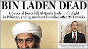 Covering bin Laden's death