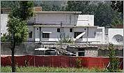Osama bin Laden's compound in Pakistan