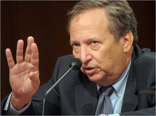 Lawrence Summers He's known as the former president of Harvard, but Lawrence Summers is an alum who graduated in 1975 with a bachelor's degree in economics. He is also a former MIT professor who was active on the MIT debate team. Oh, he was also U.S. Secretary of the Treasury.