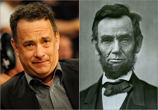 Tom Hanks and Abraham Lincoln