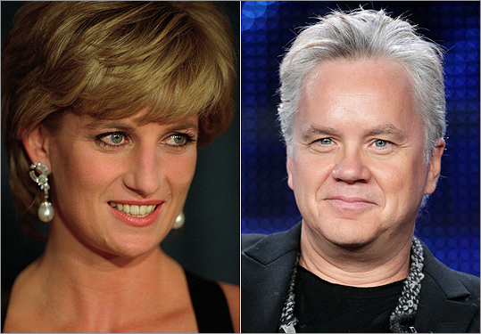 Princess Diana and Tim Robbins