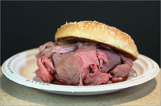 Roast Beef at Kelly's