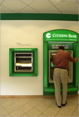 Citizens Bank's Green Checking Monthly maintenance fee: $9.99 unless minimum requirements met The monthly fee can be waived for this kind of checking account if the customer makes five qualifying transactions per month or maintains an average daily balance of $1,500.