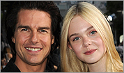 Tom Cruise and Elle Fanning
