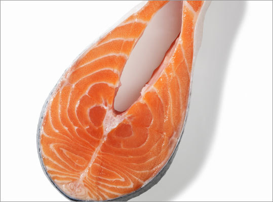 Superfood to try: Salmon 'One of the best natural sources of omega 3 fats, thought to be helpful in keeping your heart healthy. Omega 3s are also often low in the American diet and it's thought that low levels might contribute to inflammation in the body, which is a marker for many chronic diseases. Salmon is an excellent source of vitamin D, which many New Englanders are deficient in, particularly during winter months. And if you can eat canned salmon with the bones, it's also a good source of calcium. I'll often recommend that patients mix a can of salmon in when they are making tuna salad to boost the nutritional quality of their meal, ' Gelsomin says.