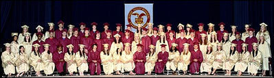Mystic Valley graduates first class to go the distance