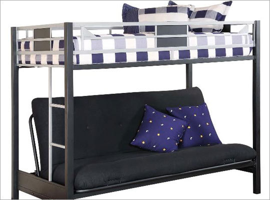 Child's entrapment death prompts futon bunk bed recall Date: June 16, 2011 Number of units: About 30,000 The death of a 3-year-old boy from Burlington, Iowa, has prompted the recall of metal futon bunk beds that were sold at Big Lots stores nationwide from January 2009 through April 2010. Children can become trapped when the futon and its metal frame are lowered from the seated to the flat position. The Consumer Product Safety Commission encourages consumers to contact Big Lots for a free repair kit.