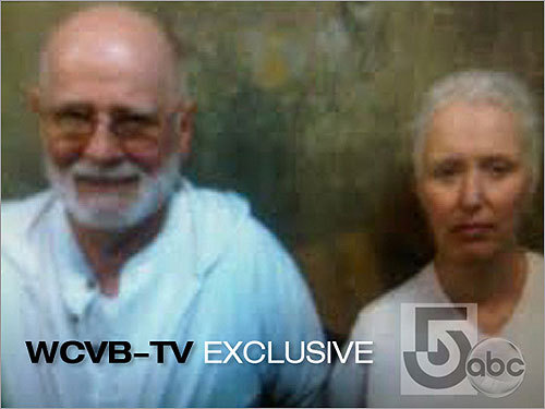Bulger and Greig were shown after their arrest.