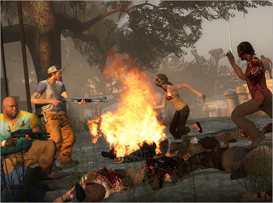Left 4 Dead 2 (2009) The sequel to the popular zombie shooter caused controversy on multiple continents. In the UK, the game's cover art had to be changed because it was deemed too offensive. In the United States, the Houston Chronicle wrote that the game could be perceived as racist because of its setting in New Orleans. In Australia, the the game was banned because the country doesn't have an 18+ rating.