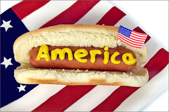 Playful Patriotic Fourth Fare Boston Com