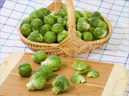 Brussels sprouts This is part of a class called cruciferous vegetables and may possess cancer-reducing properties. They contain compounds that stimulate enzymes that break down cancer causing substances, Antinoro says.
