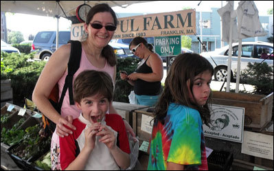 Scenes from Arlington Farmers Market
