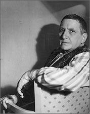 Writer Gertrude Stein in 1937.