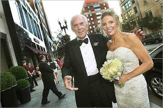 Robert Kanuth and Lesley Visser's wedding