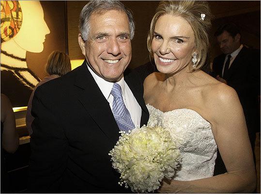 Robert Kanuth and Leslie Visser's wedding