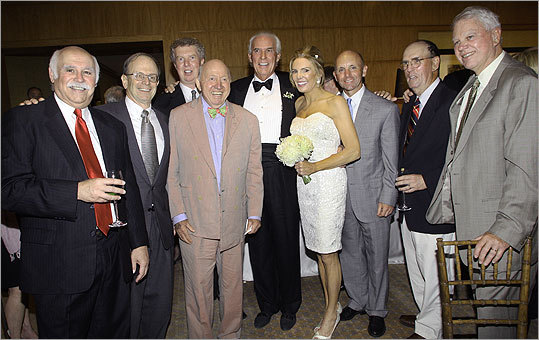 Robert Kanuth and Lesley Visser's wedding