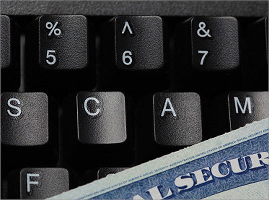 10. Identity theft Pitch Hi, this is a very legitimate business, we need to confirm some information today, is that OK? Target: Your credit and banking information. The victim is left spending hours trying to repair all of the damage the thieves have done. Don't give personal information to someone who calls or e-mails you out of the blue. Most companies will never e-mail you to confirm sensitive information. Ask for a callback number, and check with your normal contact at the company to make sure it's legitimate.