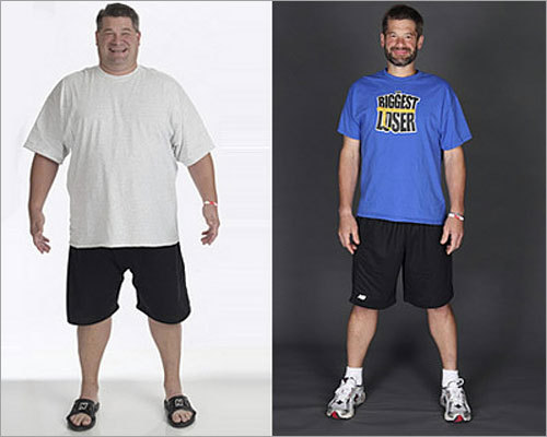 'The Biggest Loser': Make slow, steady progress Whether you're trying to lose weight like the contestants on 'The Biggest Loser' or reduce your debt and cultivate new spending habits, slow and steady wins the race. 'Don't be discouraged if you fail to make progress (during) one week. The contestants on this reality show don't always lose weight at every weigh-in,' said Praveen Puri, author of 'Stock Trading Riches.'