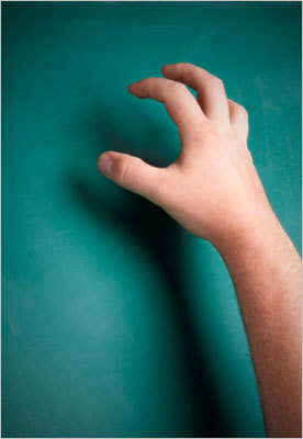 How annoying are fingernails on a blackboard?