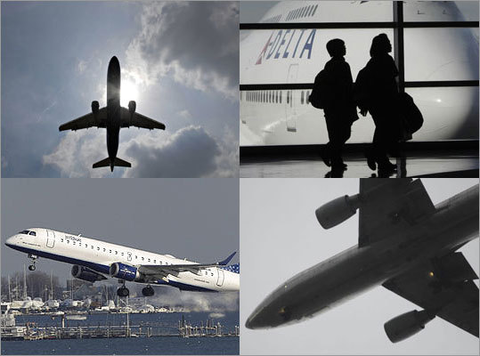 US airlines curbed long delays in July and improved their overall on-time rates compared with both a month and year earlier, the Department of Transportation said. Only one plane got stuck on the tarmac for more than three hours in July -- a Continental flight from Miami to Newark, N.J. See which of the largest airlines had the highest on-time rates.