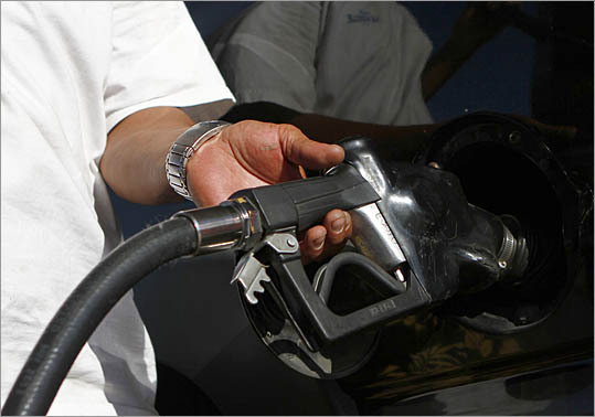 Topping off your tank Myth: Many people continue to add gas to their tanks even after the pump has indicated that the tank is full. By topping off their tanks, they believe they're getting as much gas in the tank as possible. Fact: In reality, topping off can actually send gas back to the station instead of into your car. The gas nozzle automatically shuts off when your tank is full, so any additional gas you try to add will be drawn into a vapor recovery system and back into the station's storage tanks. In addition you may damage you car's evaporative emissions system.
