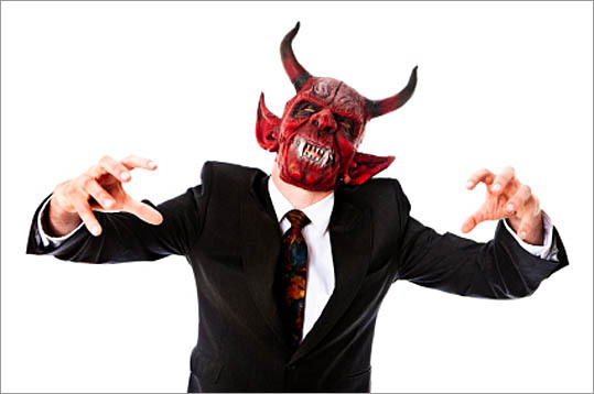 If you work long enough, you're bound to encounter a bad boss. Of course, 'bad' is a relative term. It might mean a boss that blocks you from being promoted, or a truly devilish boss who reacts with violence and spite. Boston.com readers chimed on with these types of bad bosses. Tell us more by submitting your story .