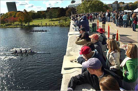 Oct. 22-23: Head of the Charles Regatta Head over to the 47th annual Head of the Charles early in the morning for a prime viewing spot of the rowing teams on the water. Free. Charles River, viewing spots along the river in Boston and Cambridge, www.hocr.org