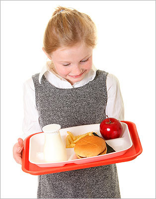 Scope out the school lunch menu For parents who know there will be times they will be unable to make their child lunch and need to rely on the food served at school, Ludwig suggested parents visit the school and see what the quality of foods being served is like. 'See if the vegetable being served is boiled or overcooked, which kids aren't going to like or eat,' Ludwig said. 'Parents who take a trip to the school to see what is actually being served can then advocate for healthier options.'
