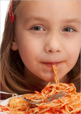 Use 'stealth health' if you have to 'There are many ways to use 'stealth health.' Almost every kid likes pasta, so add pureed spinach or zucchini into the tomato sauce,' Ludwig said. 'Then kids won't even recognize that they're eating vegetables.'