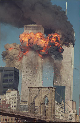 More than 2,700 people were killed when Al Qaeda terrorists hijacked US passenger jets and flew them into the twin towers of the World Trade Center on Sept. 11, 2001.