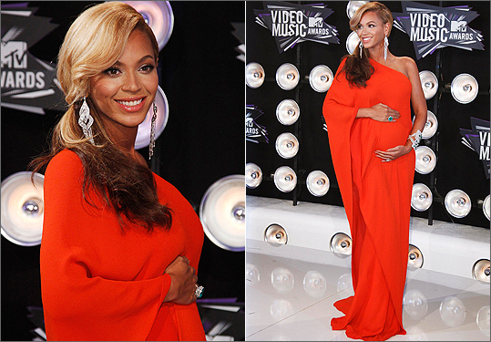 Beyonce in Lanvin