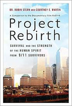 'Project Rebirth' by Robin Stern and Courtney E. Martin Written in conjunction with the documentary 'Rebirth,' the book is uniquely positioned to tackle the questions raised about how people react in the face of crippling grief, how to maintain hope for a future, and the amazing ability of humans to focus on the positive aspects of day-to-day living in the face of tragedy. The project follows people dedicated to rebuilding, both physically and emotionally. Spirituality, resilience, and hope are at the center of their stories. Description from Amazon .