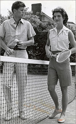 'It is all to the good for the larger endeavor of historical inquiry.' The couple played tennis on June 30, 1953.