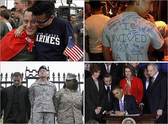 from Gauge gay the military debate