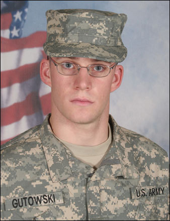 Specialist Steven E. Gutowski, 24, Plymouth