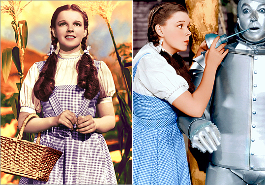 Dorthy in 'Wizard of Oz'