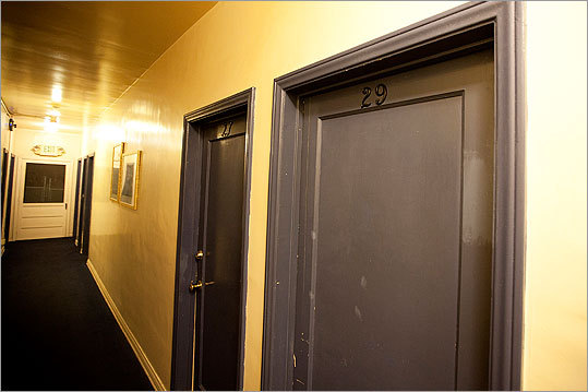 Room 29 in the West End Hotel, where a man who lent his identity to 'Whitey' Bulger lived.