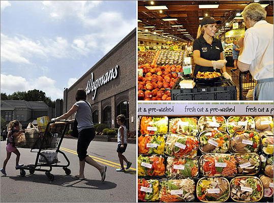 In 2011, Wegmans opened a massive food emporium in Northborough, and Mayor Menino announced in March 2013 plans to open a store in the Fenway area. Curious about the supermarket? Take a look at photos from the flagship grocery store in Pittsford, N.Y., a suburb of Rochester.