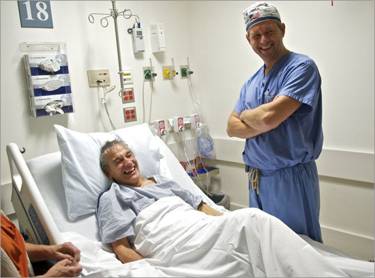 Mangino and Dr. Matthew Carty, a surgeon in plastic and reconstructive surgery.