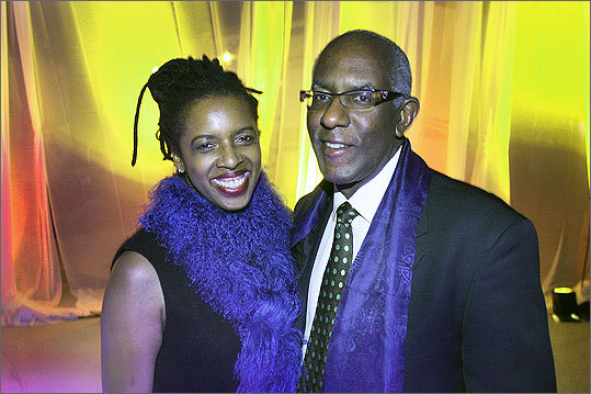 Oct. 29 in Boston Charla Jones and Dr. Paul Underwood, both of Boston.