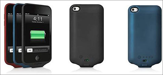 Mophie recalls iPod Touch rechargeable external battery case due to burn hazard Date: Nov. 30, 2011 Units: About 6,118 The battery case's integrated circuit switch can overheat, posing a burn hazard to consumers. There have been 110 reports of the product becoming warm to the touch, 44 reports of the product deforming and nine reports of minor burns. See also: Rocketfish battery case for iPhone 3G/3GS recalled