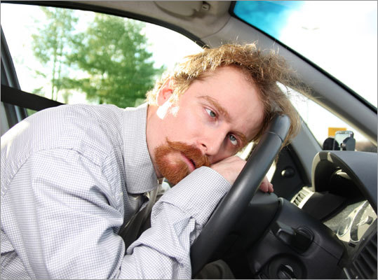 Avoid driving if you are sleep deprived If possible, take public transportation into work for a few days after the change, rather than driving. If you must drive, make sure to get a full night's sleep each night and remain vigilant when driving.