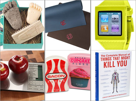 Looking for a gift for the fitness buff or health nut in your life this holiday season? We've rounded up some of our favorite health-related gifts from around the Web to make finding that perfect healthy gift a bit easier...