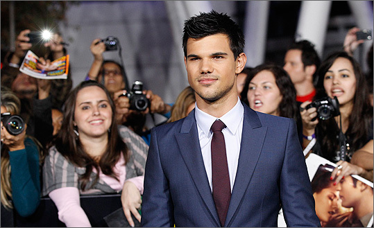 Taylor Lautner of 'Twilight'