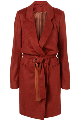 Topshop lounge coat